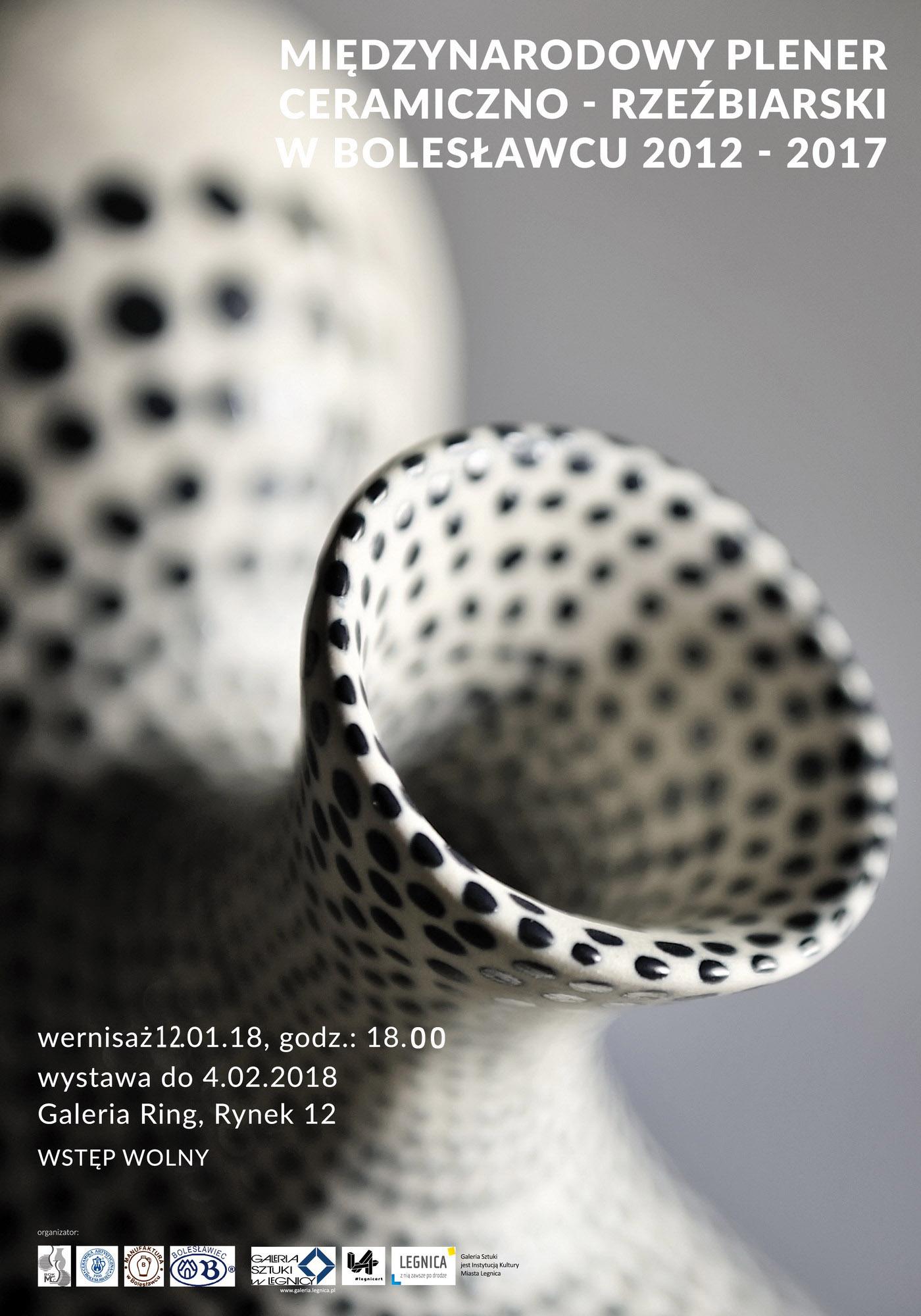 Plakat ceramika