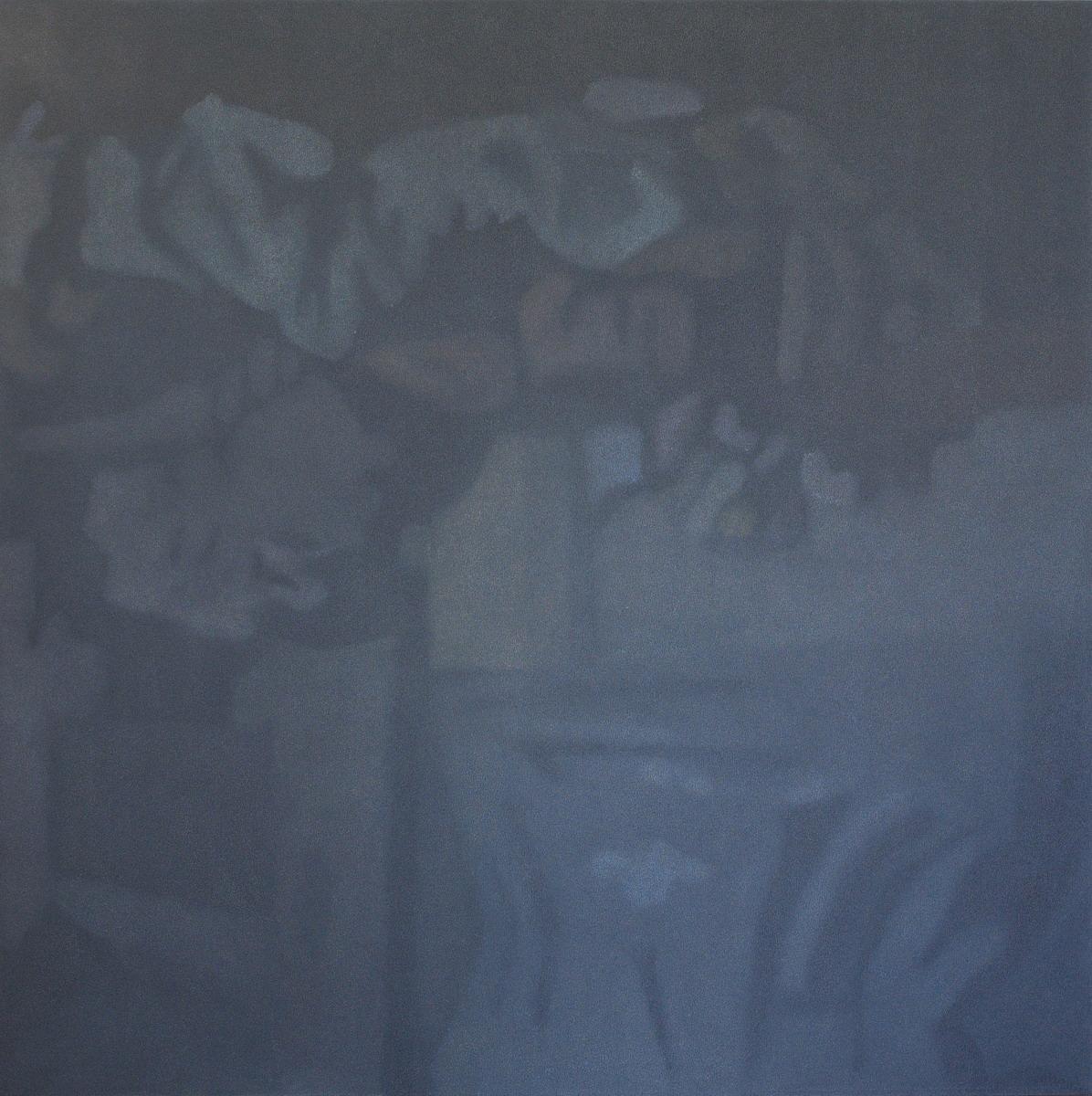 camera obscura 2017, 150  x 150 cm, olej na plotnie_resize