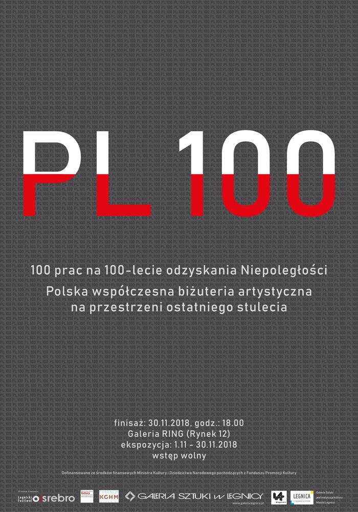 Plakat Wystawa PL 100 maly 01