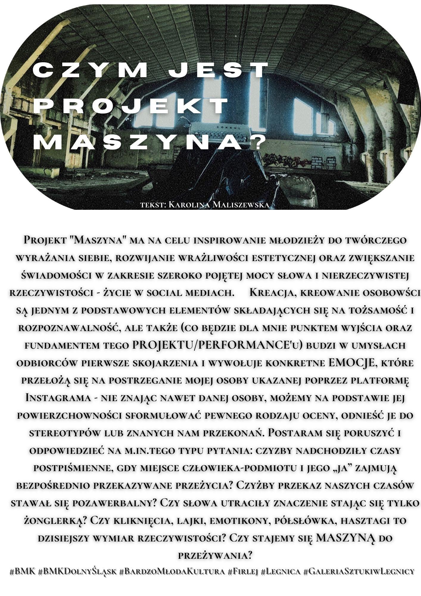 Projekt Maszyna