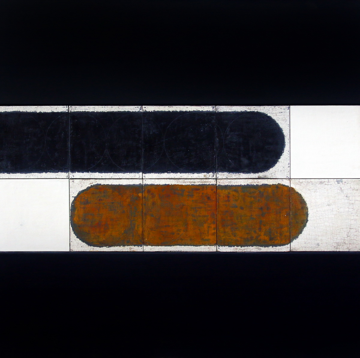 Durczak Magdalena, V z cyklu Droga krzyzowa, enkaustyka na desce, olej na plotnie, 2015r_resize