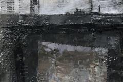 Cyran Barbara 3. bez tytulu 1, 100x100 cm, technika wlasna na blasze stalowej, 2015_resize