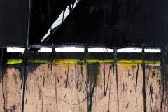 Oboz Ignacy - Odblask I, 150x100, olej, alkid, kamizelka odblaskowa, plotno, 2016_resize_resize